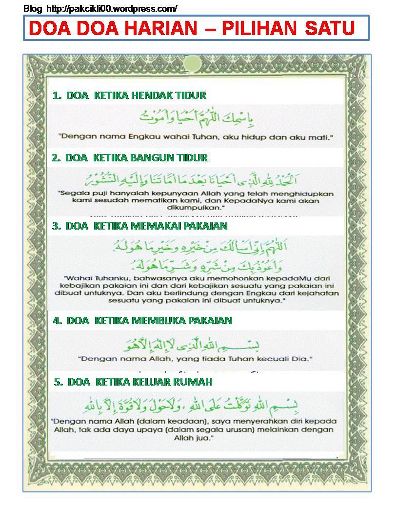 Doa Harian | Facebook