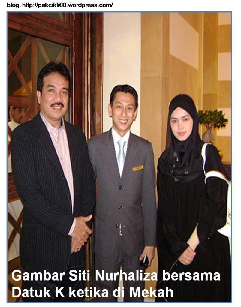 Gambar Siti Nurhaliza bersama Datuk K ketika di Mekah | Jalan Akhirat