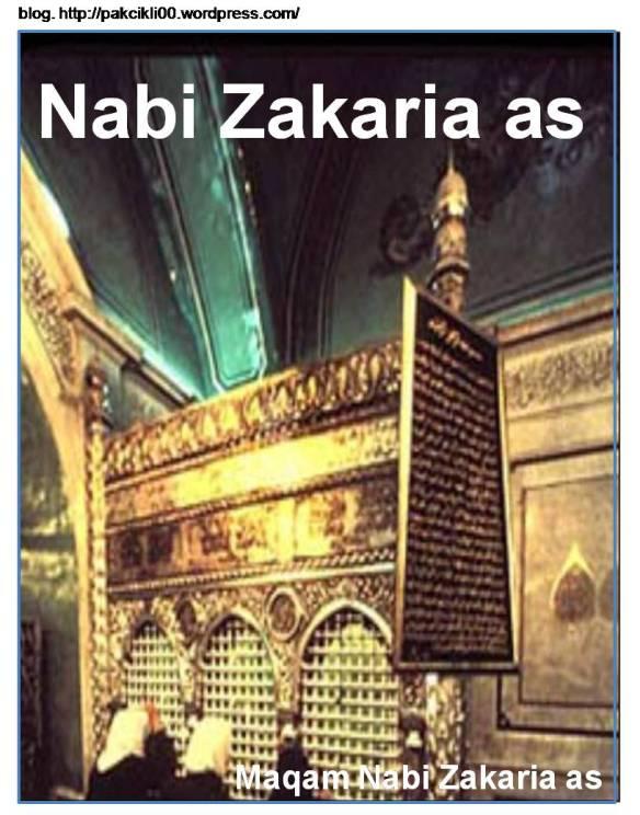 Nabi Zakaria As Jalan Akhirat