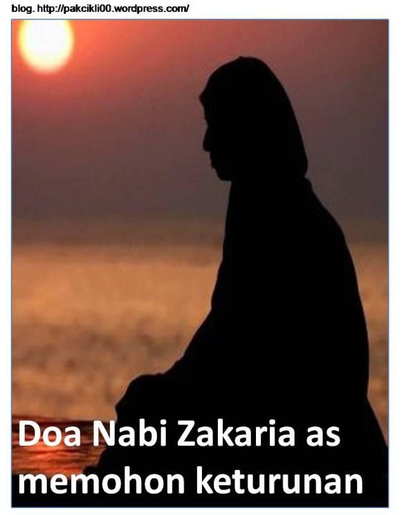 Doa Nabi Zakaria As Memohon Keturunan Jalan Akhirat