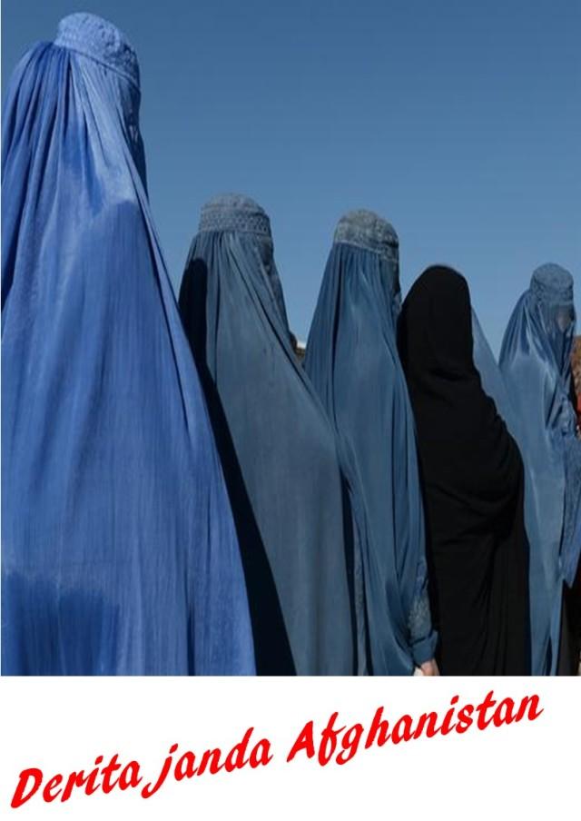 Derita janda Afghanistan