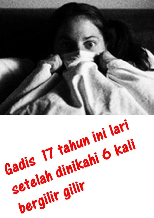 Gadis  17 tahun ini lari