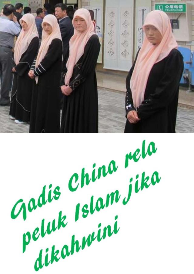 Gadis China rela