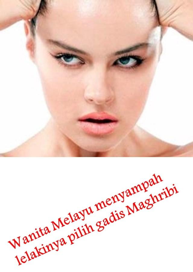 Wanita Melayu menyampah