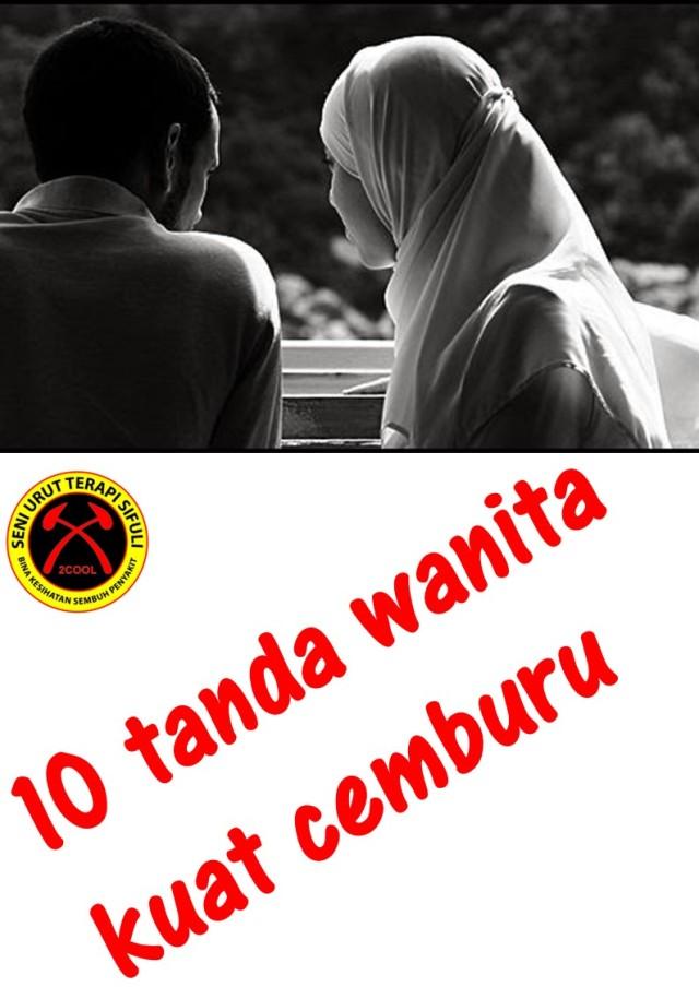 10 tanda wanita kuat cemburu