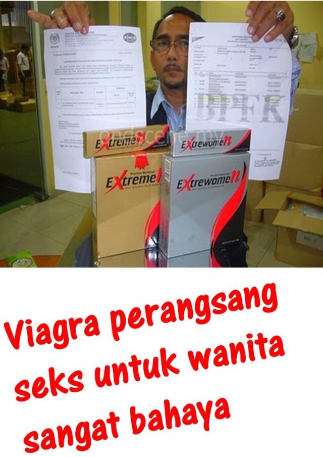 Viagra perangsang seks untuk wanita