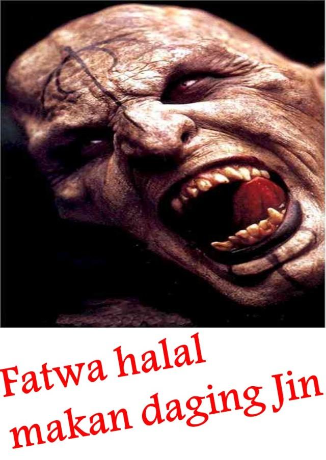 Fatwa halal makan daging Jin