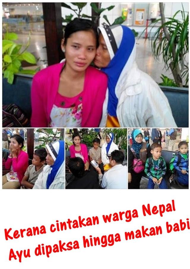 Kerana cintakan warga Nepal