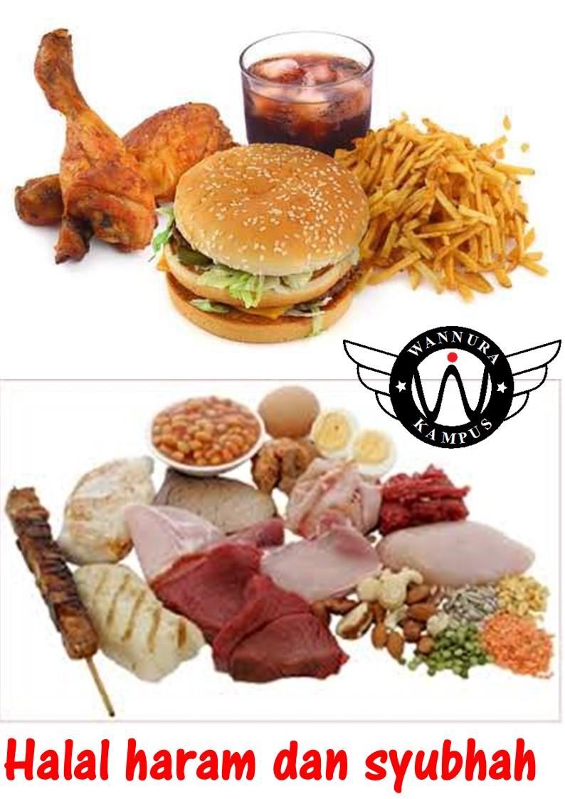 Hadis Mengenai Makanan Halal Haram Dan Syubhah Jalan Akhirat