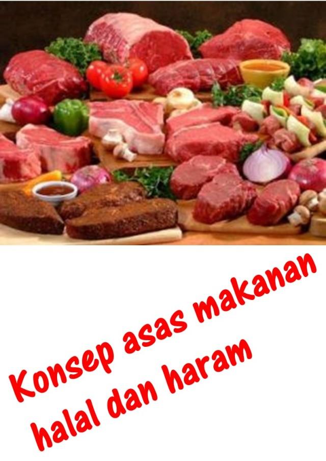 Konsep asas makanan halal dan haram