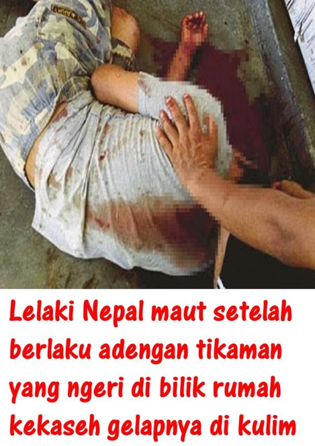 Lelaki Nepal maut setelah
