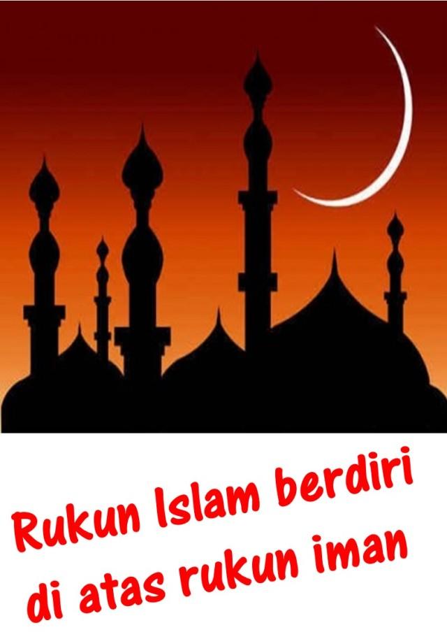 Rukun Islam berdiri