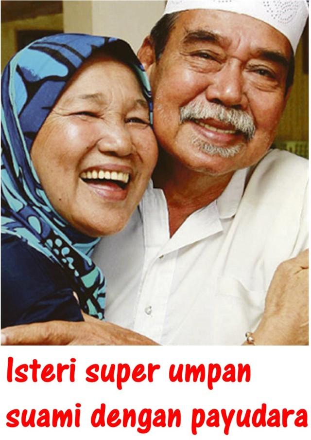 Isteri super umpan suami dengan payudara